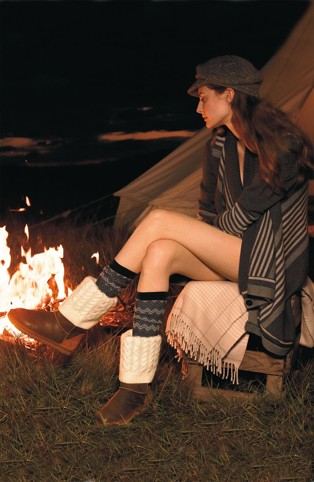 Alternate Image 5  - UGG® Australia 'Tularosa Route Detachable' Boot with Removable Knit Overlay (Women)