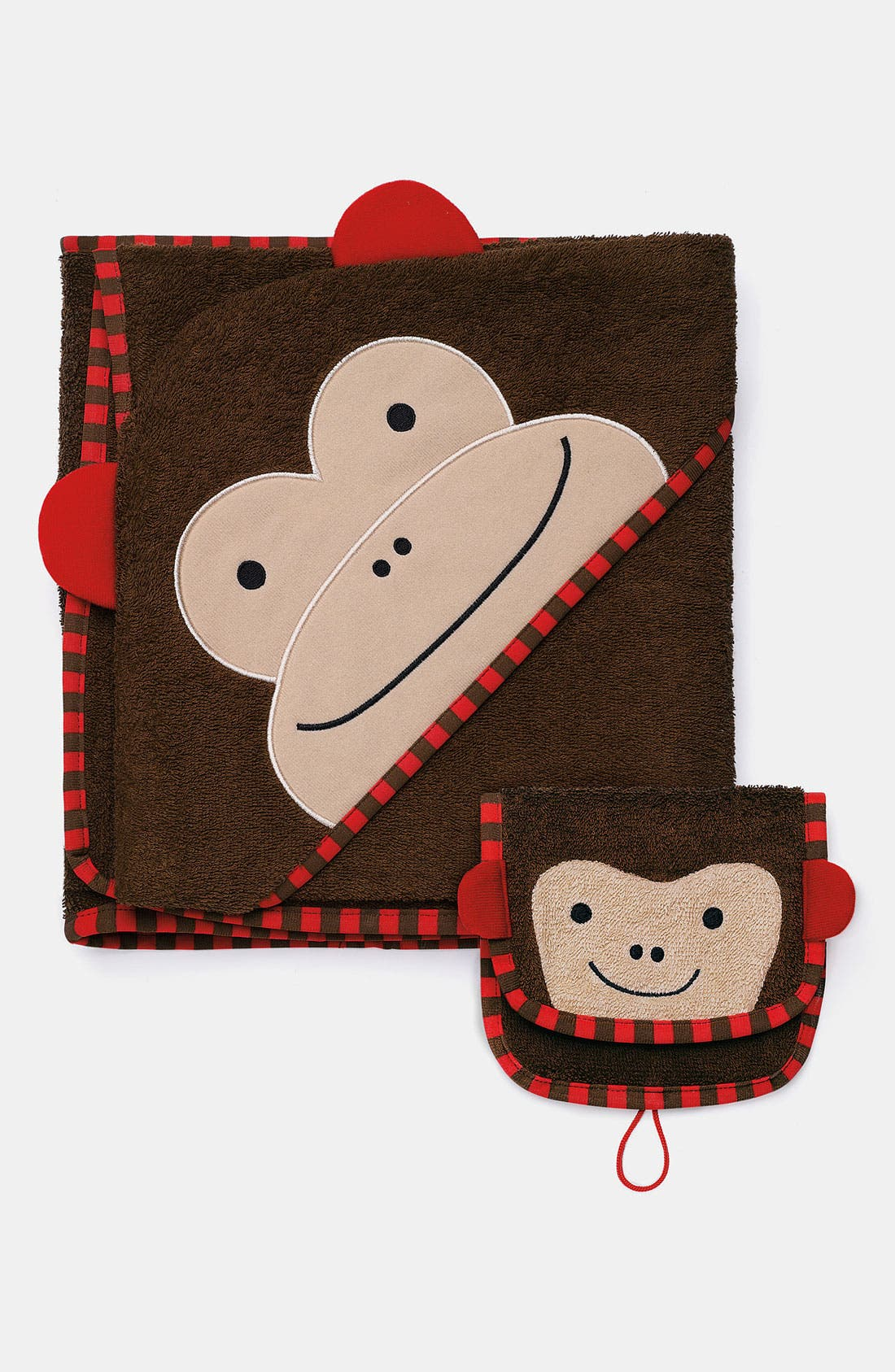 Alternate Image 1 Selected - Skip Hop 'Zoo' Hooded Towel (Baby)