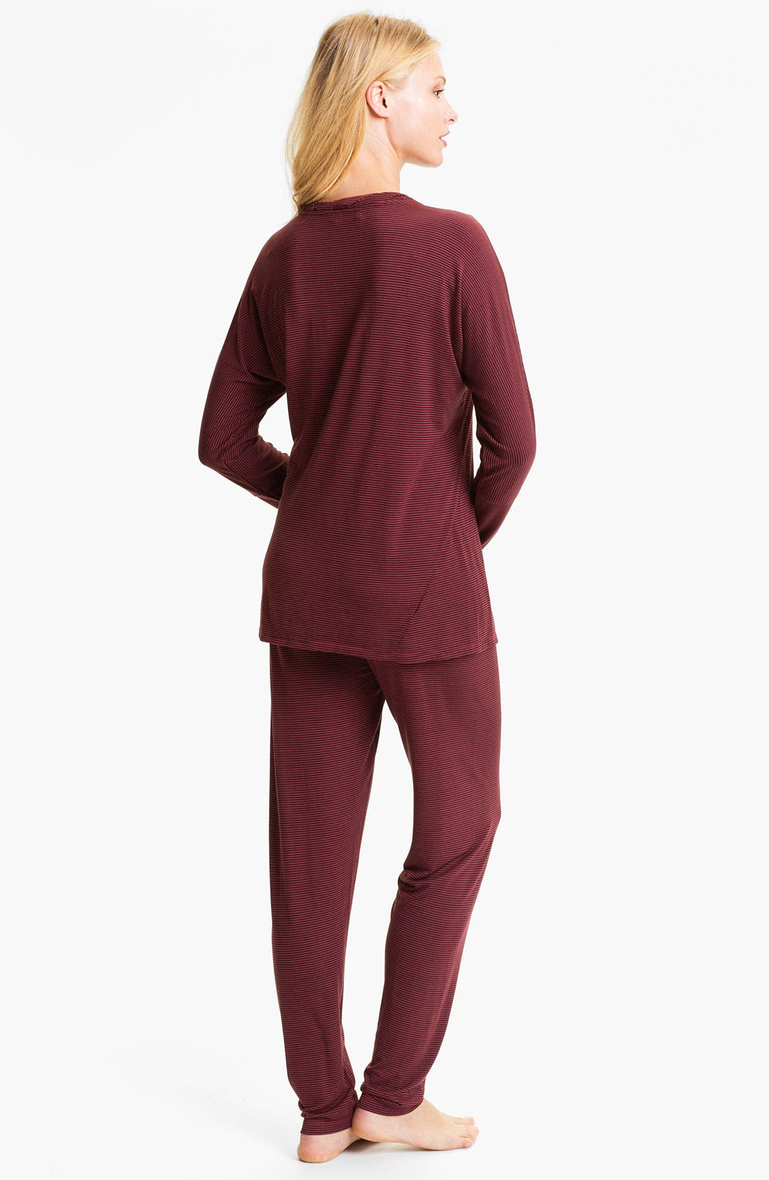 Alternate Image 2  - Midnight by Carole Hochman 'Modern Comfort' Pajamas