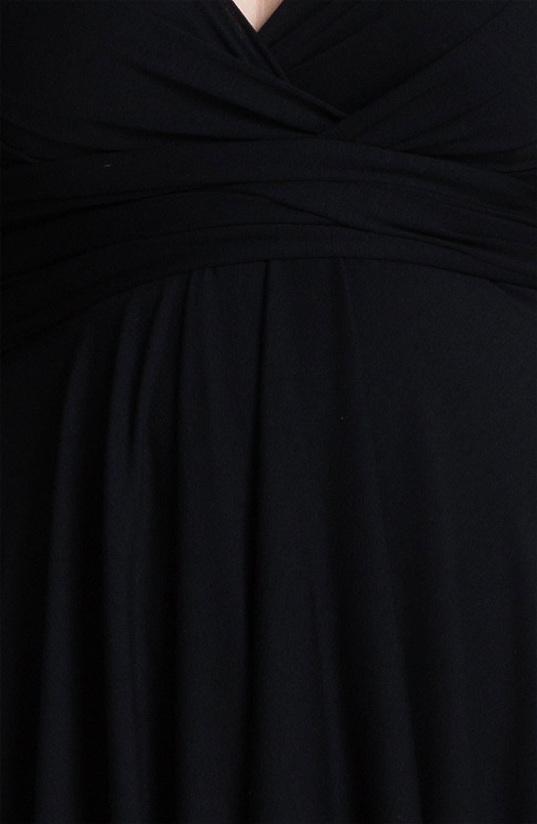 Alternate Image 3  - Monif C 'Marilyn' Convertible Jersey Dress (Plus)