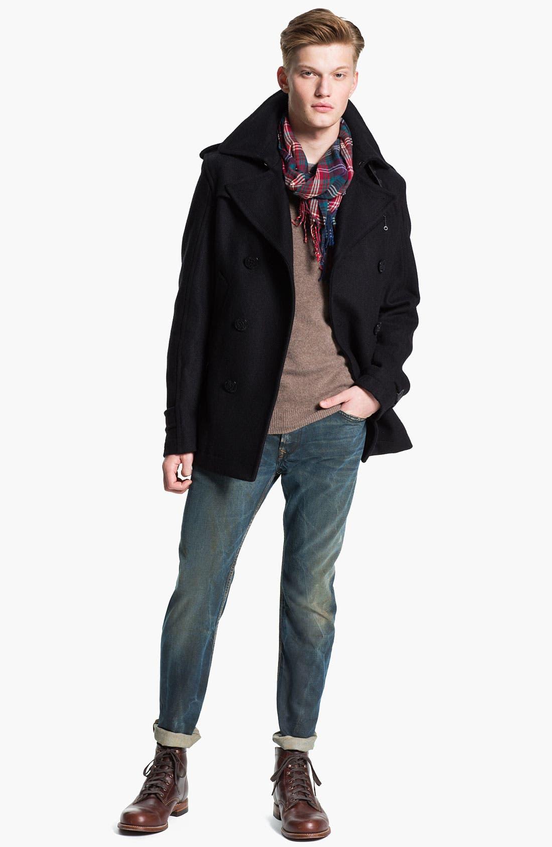 Alternate Image 5  - DIESEL® 'Waykee' Straight Leg Jeans (0808H)