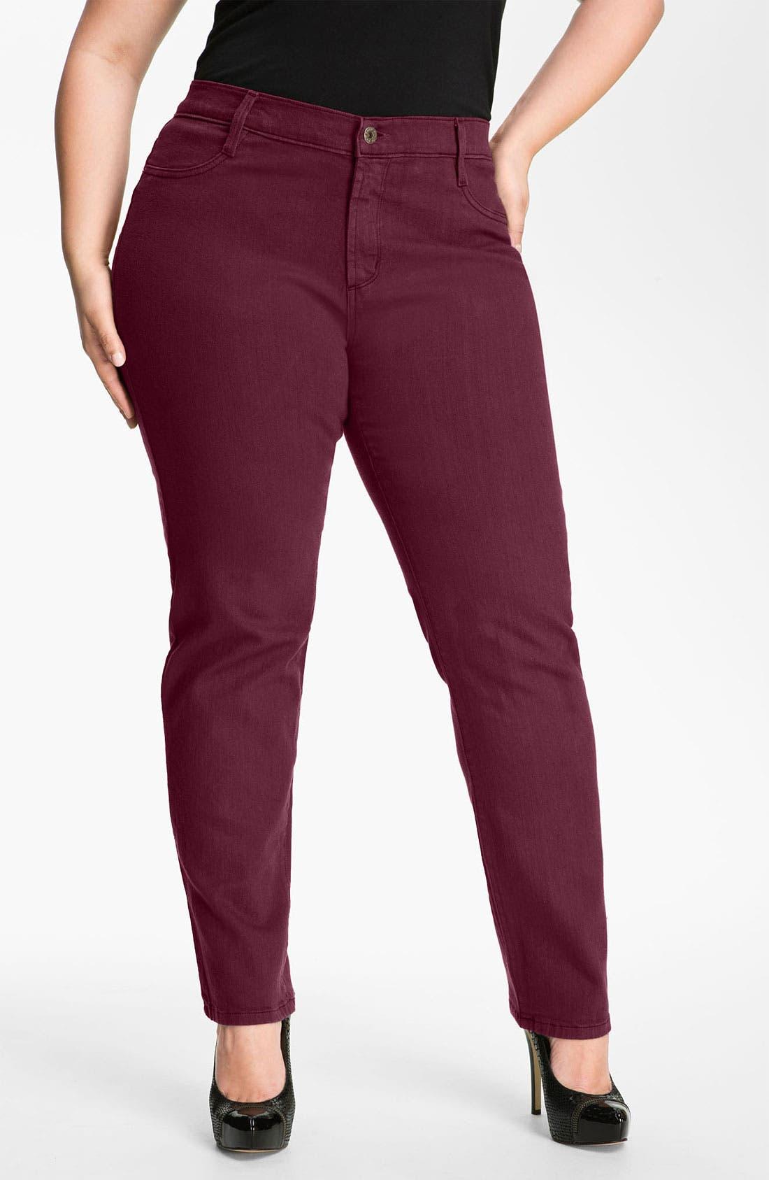 Alternate Image 1 Selected - James Jeans Stretch Denim Leggings (Plus)