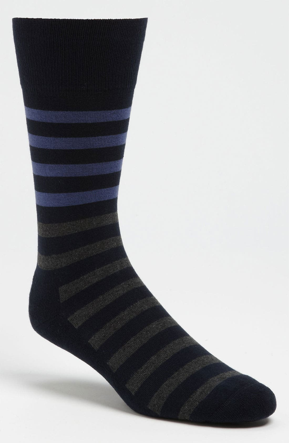 Alternate Image 1 Selected - Nordstrom Cushioned Stripe Socks