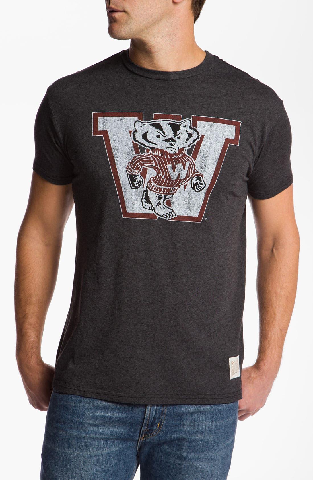 Main Image - The Original Retro Brand 'Wisconsin Badgers' T-Shirt