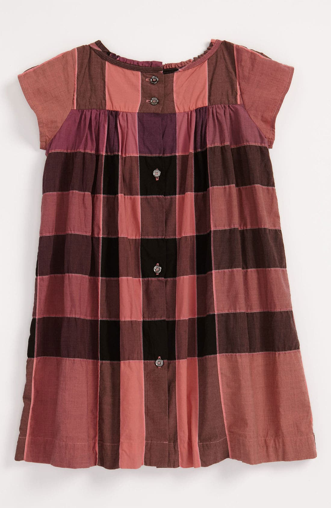 Alternate Image 2  - Burberry Check Print Dress (Baby)