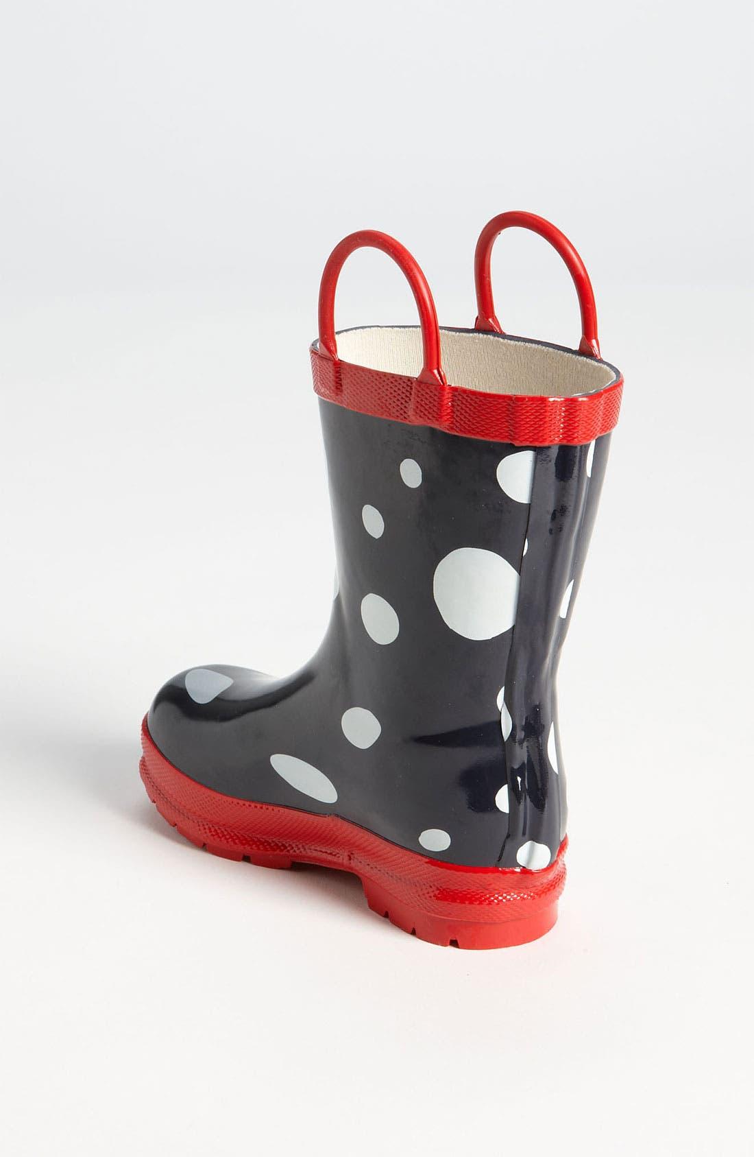 Alternate Image 2  - Hatley 'Snow Balls' Rain Boot (Walker, Toddler & Little Kid)