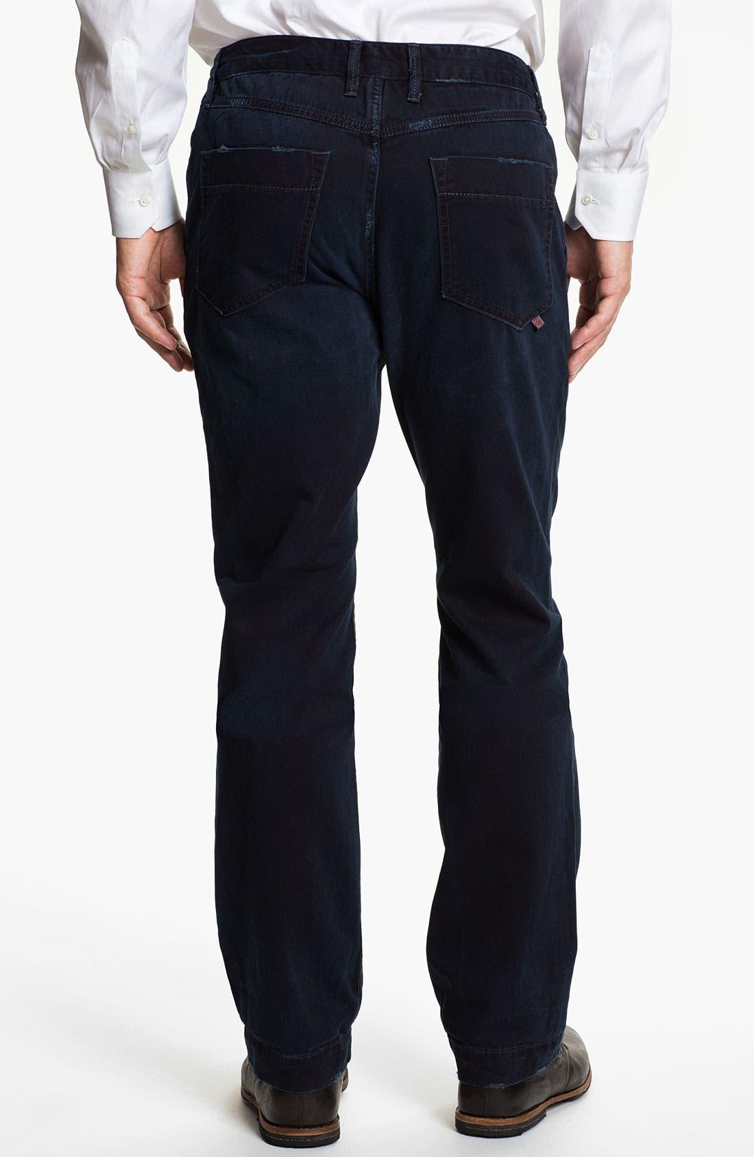 Alternate Image 2  - Robert Graham Jeans 'Blue Tar' Classic Fit Straight Leg Chinos