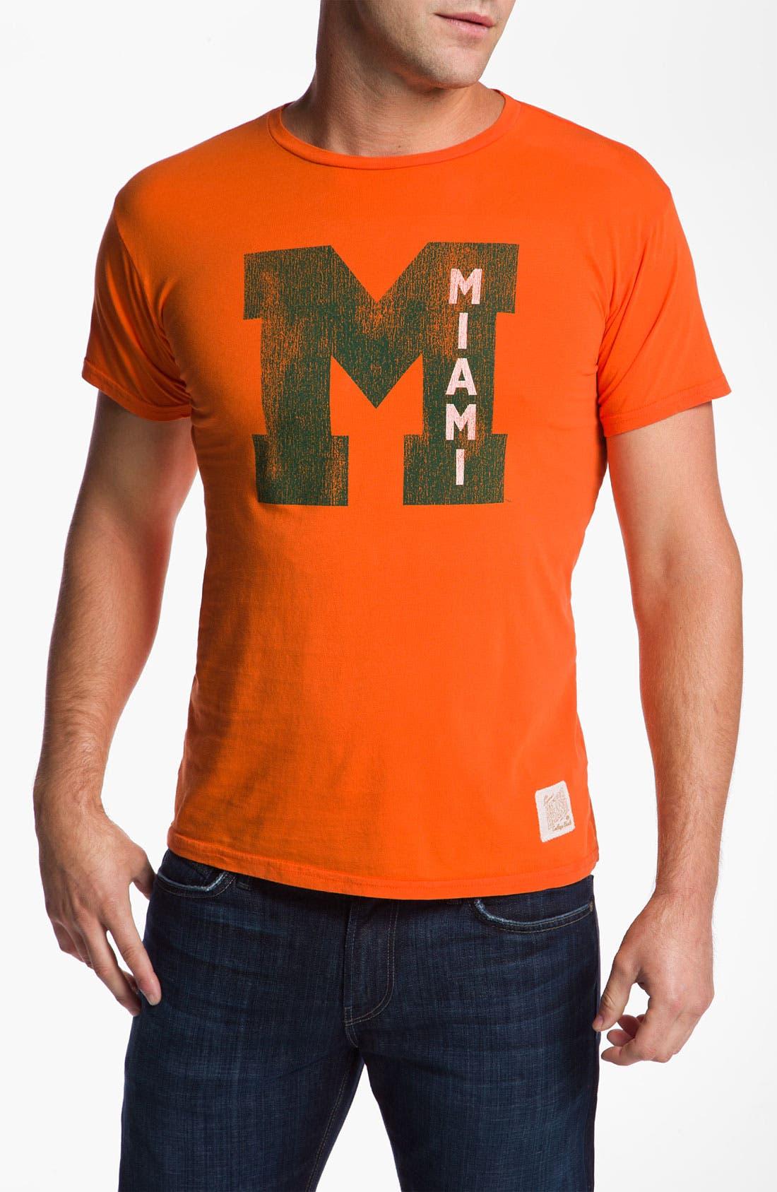 Alternate Image 1 Selected - Retro Brand 'Miami Hurricanes' T-Shirt