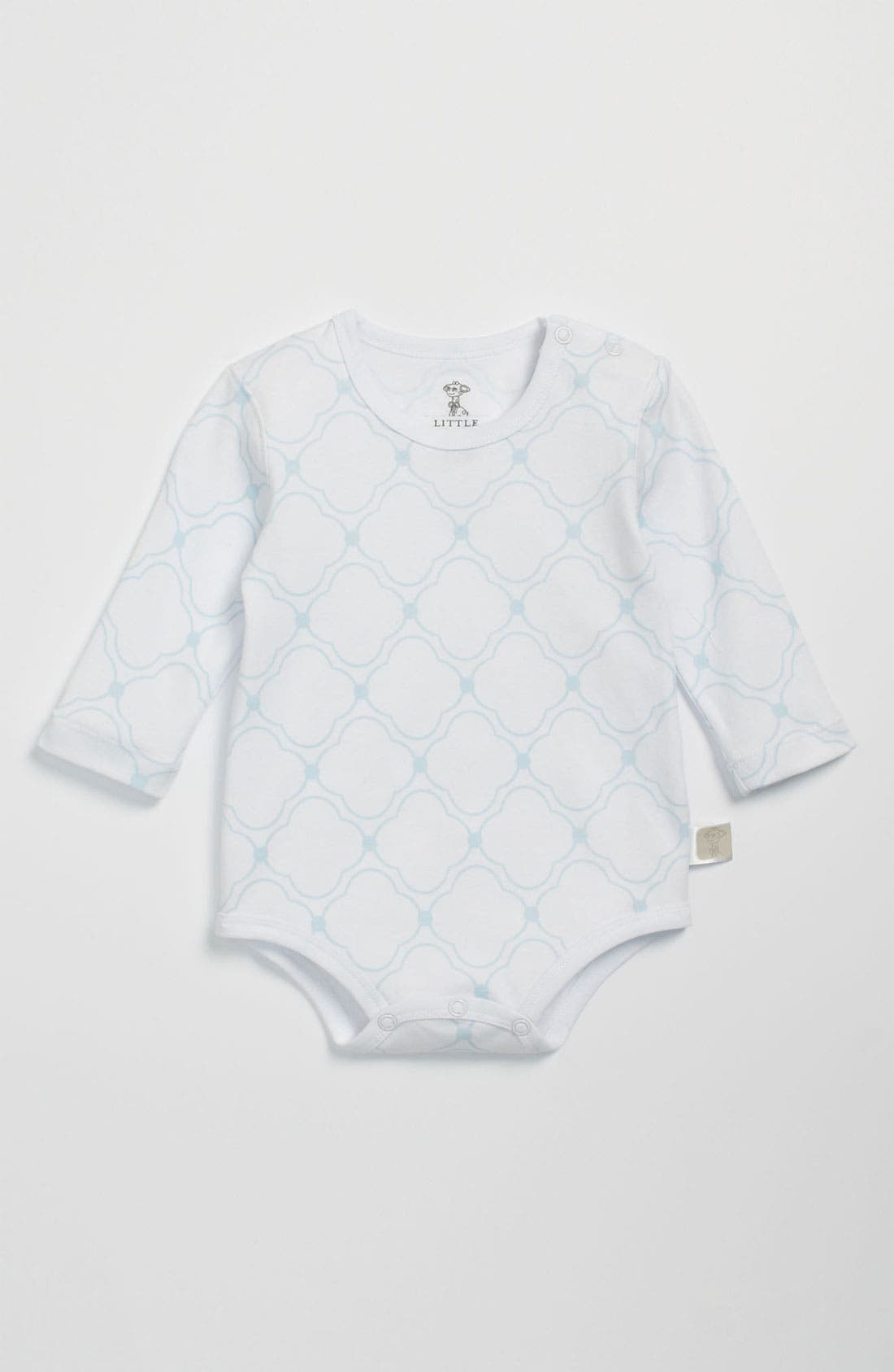 Alternate Image 1 Selected - Little Giraffe Long Sleeve Bodysuit (Infant)