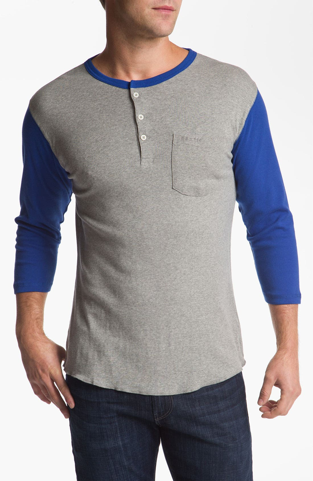 Alternate Image 1 Selected - Brixton 'Detroit' Knit Henley
