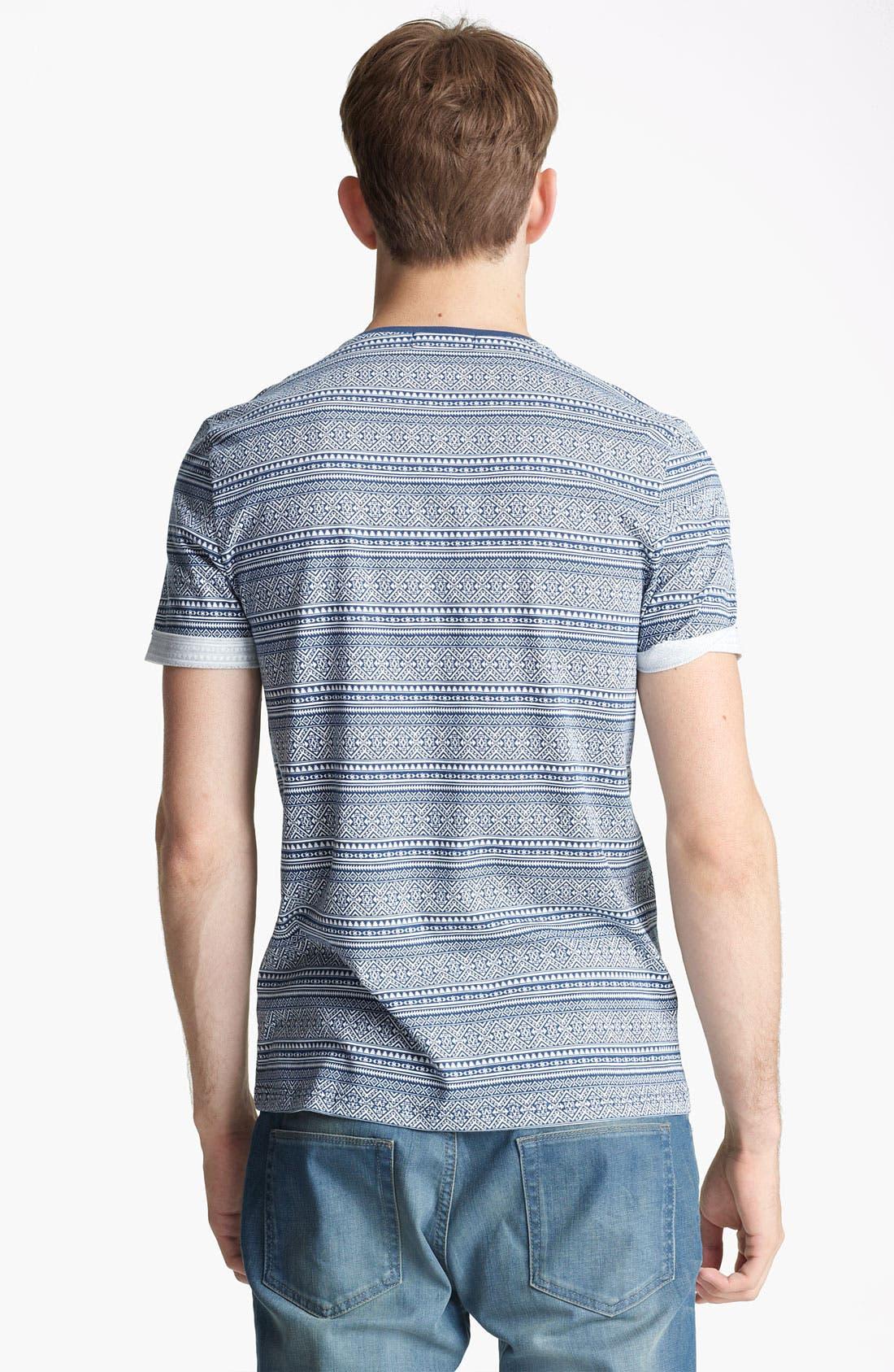 Alternate Image 2  - Topman Mini Aztec Pattern T-Shirt