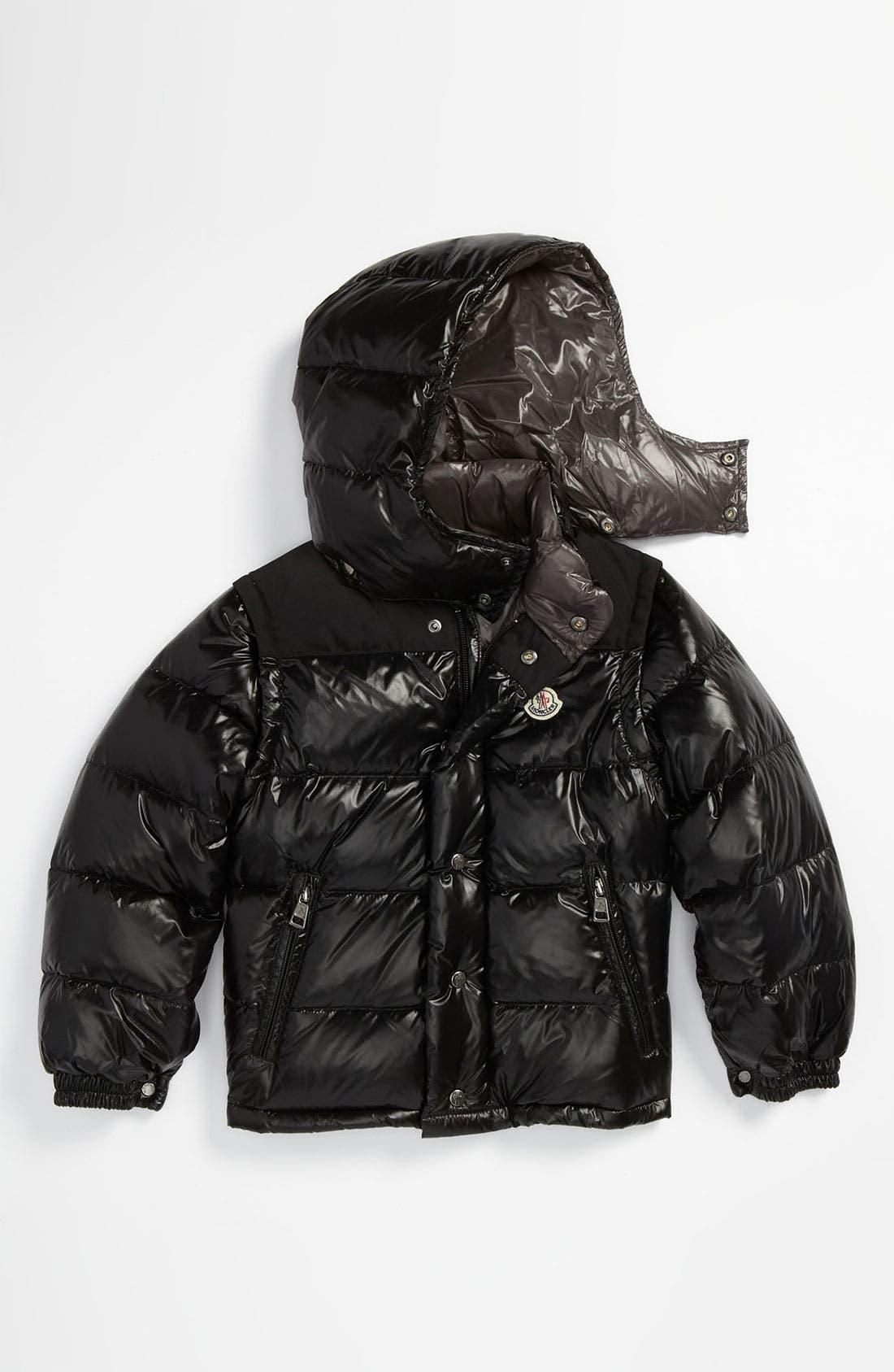Main Image - Moncler Puffer Jacket (Big Boys)