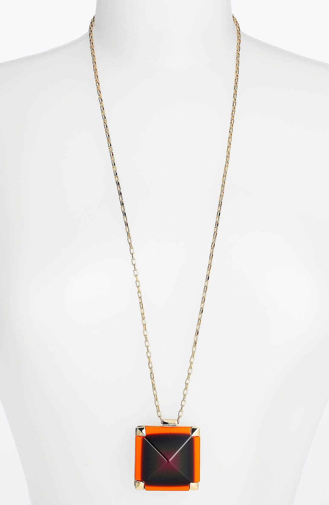 Alternate Image 1 Selected - kate spade new york 'pyramid hill' pendant necklace