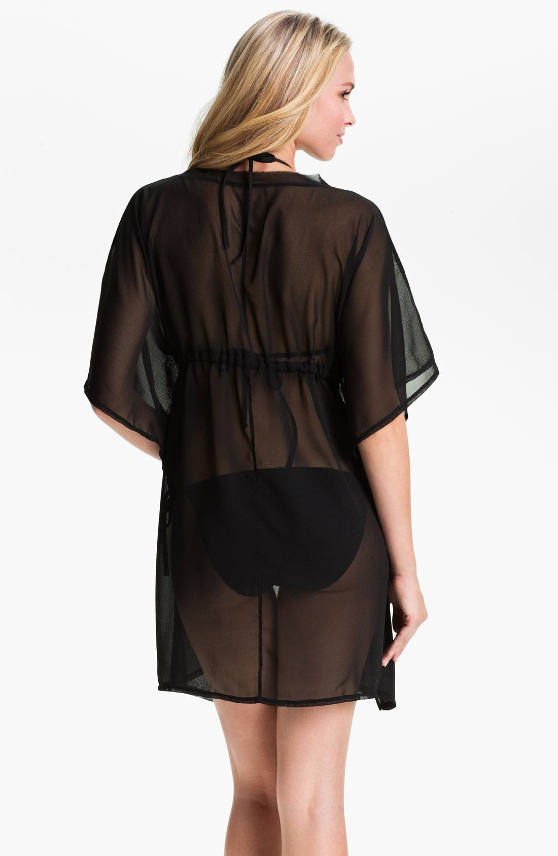 Alternate Image 2  - Echo 'Solid Silky' Butterfly Cover-Up Dress