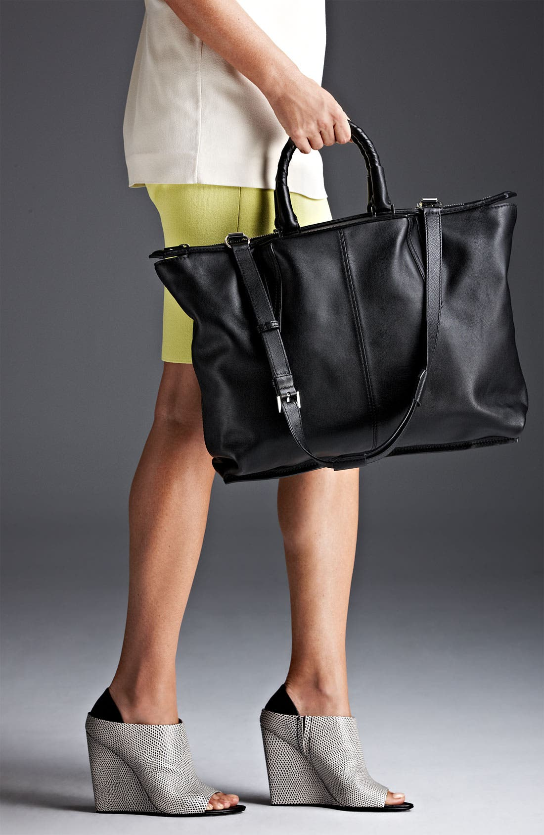 Alternate Image 5  - Alexander Wang 'Liner - Small' Leather Satchel