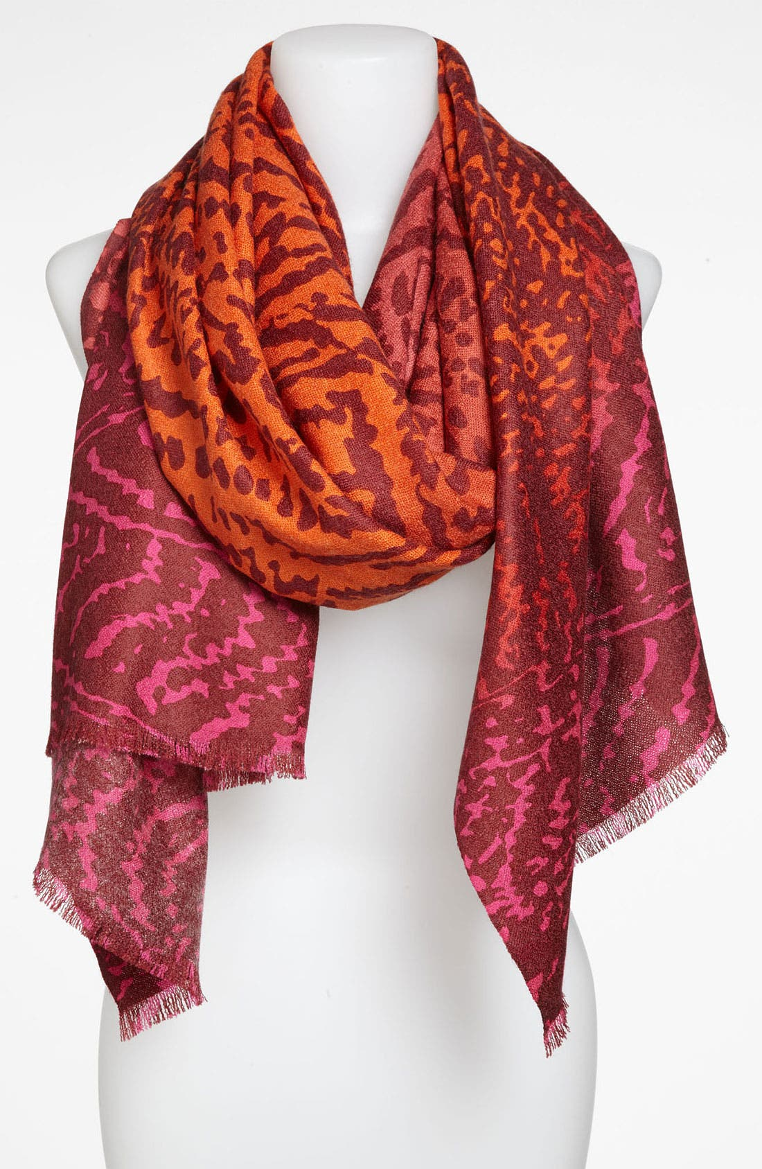 Alternate Image 1 Selected - Collection XIIX Ombré Zigzag Scarf