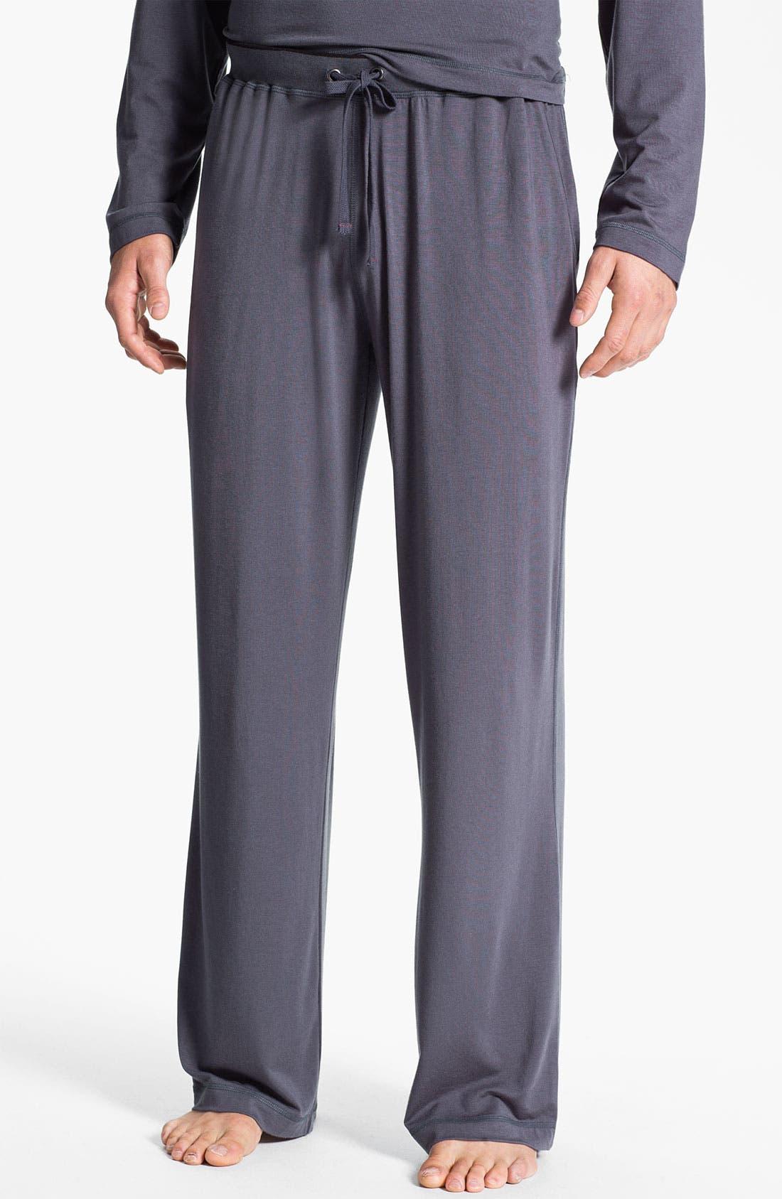Alternate Image 1 Selected - Daniel Buchler Silk & Modal Lounge Pants