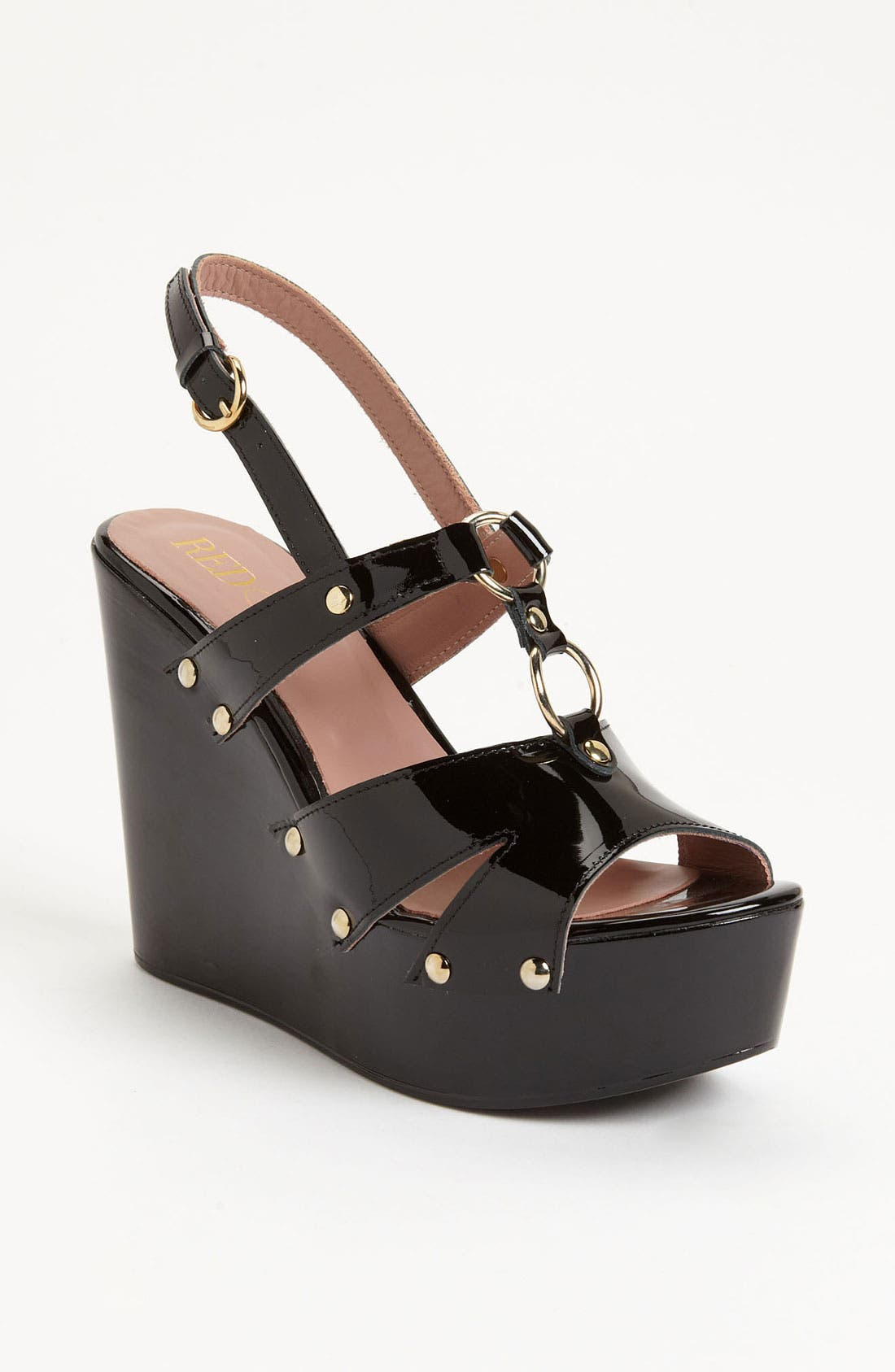 Alternate Image 1 Selected - RED Valentino Patent Wedge