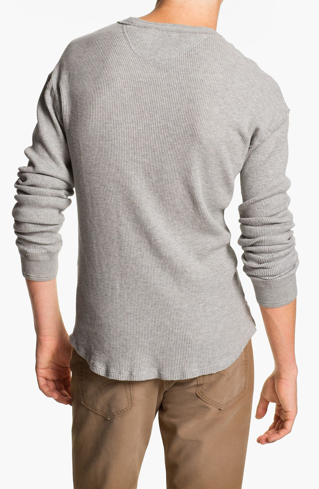 Alternate Image 2  - Scotch & Soda 'Grand Dad' Thermal Henley