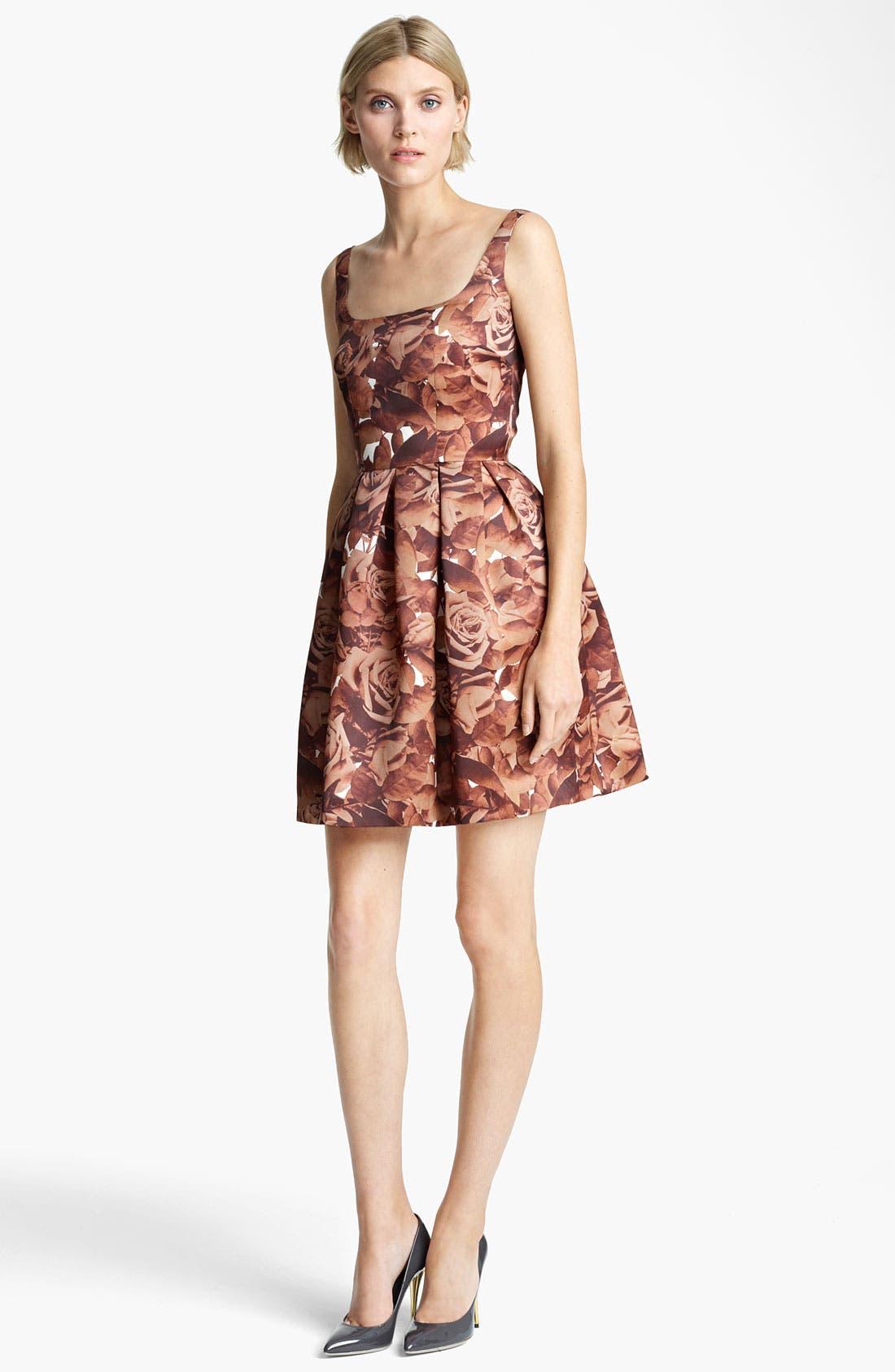 Alternate Image 1 Selected - Christopher Kane Sleeveless Floral Print Dress