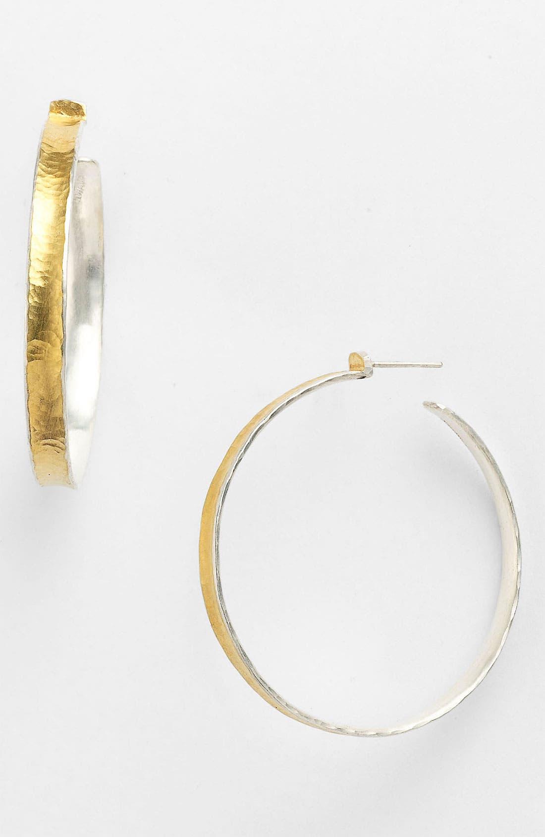 Alternate Image 1 Selected - Gurhan 'Hourglass' Hoop Earrings