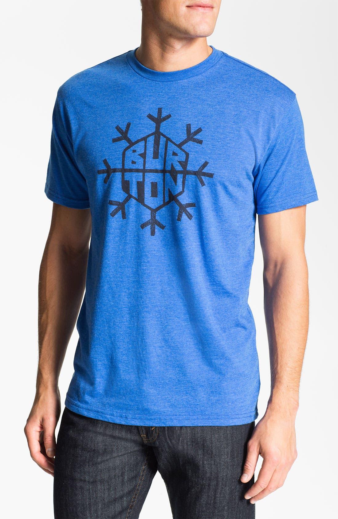 Main Image - Burton 'Flake' Graphic T-Shirt