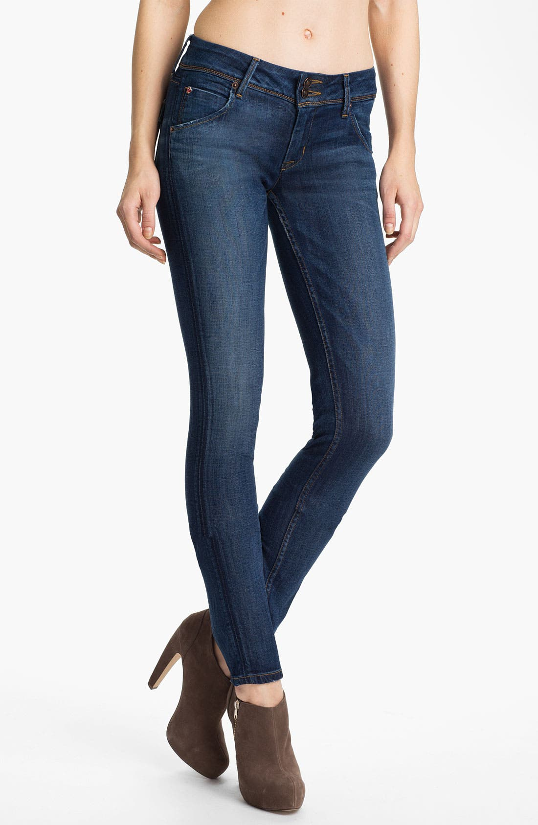 Alternate Image 1 Selected - Hudson Jeans 'Collin' Skinny Stretch Jeans (Lownes)