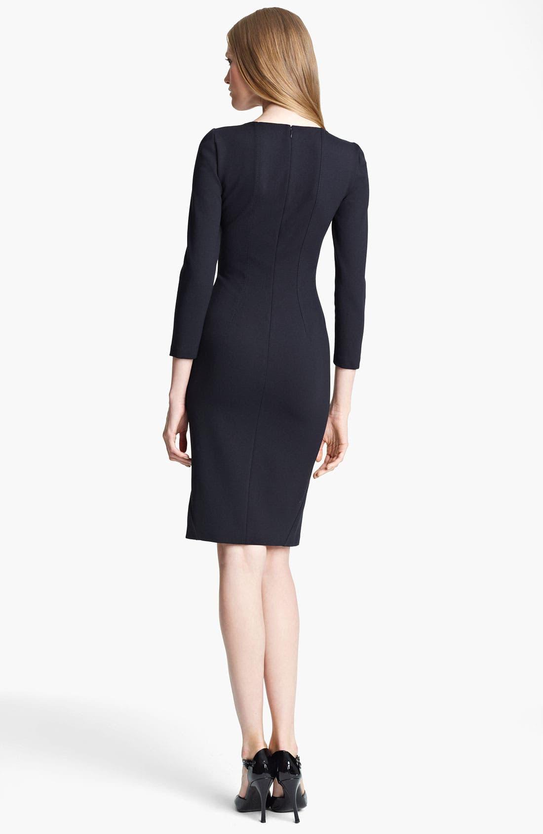 Alternate Image 2  - Armani Collezioni Jersey Dress