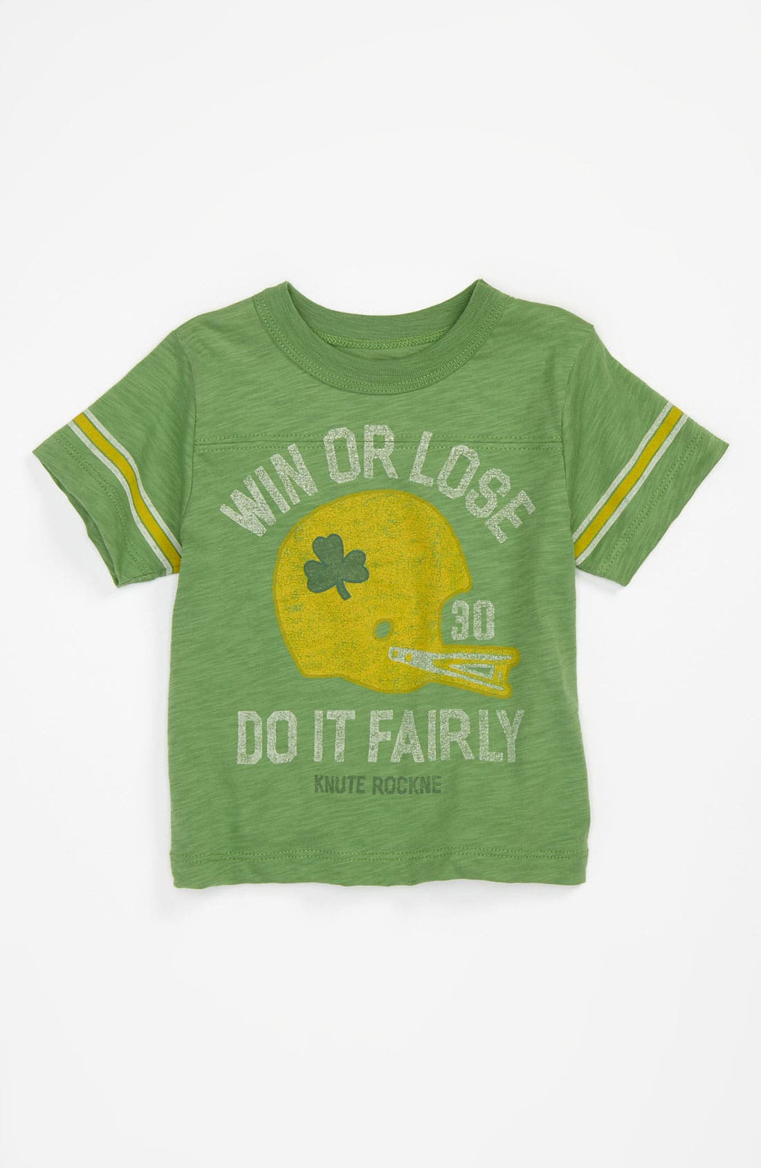 Alternate Image 1 Selected - Peek 'Coach' Jersey T-Shirt (Infant)
