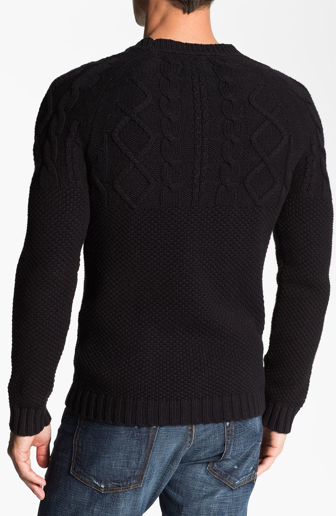 Alternate Image 2  - J.C. Rags Cable Knit Sweater