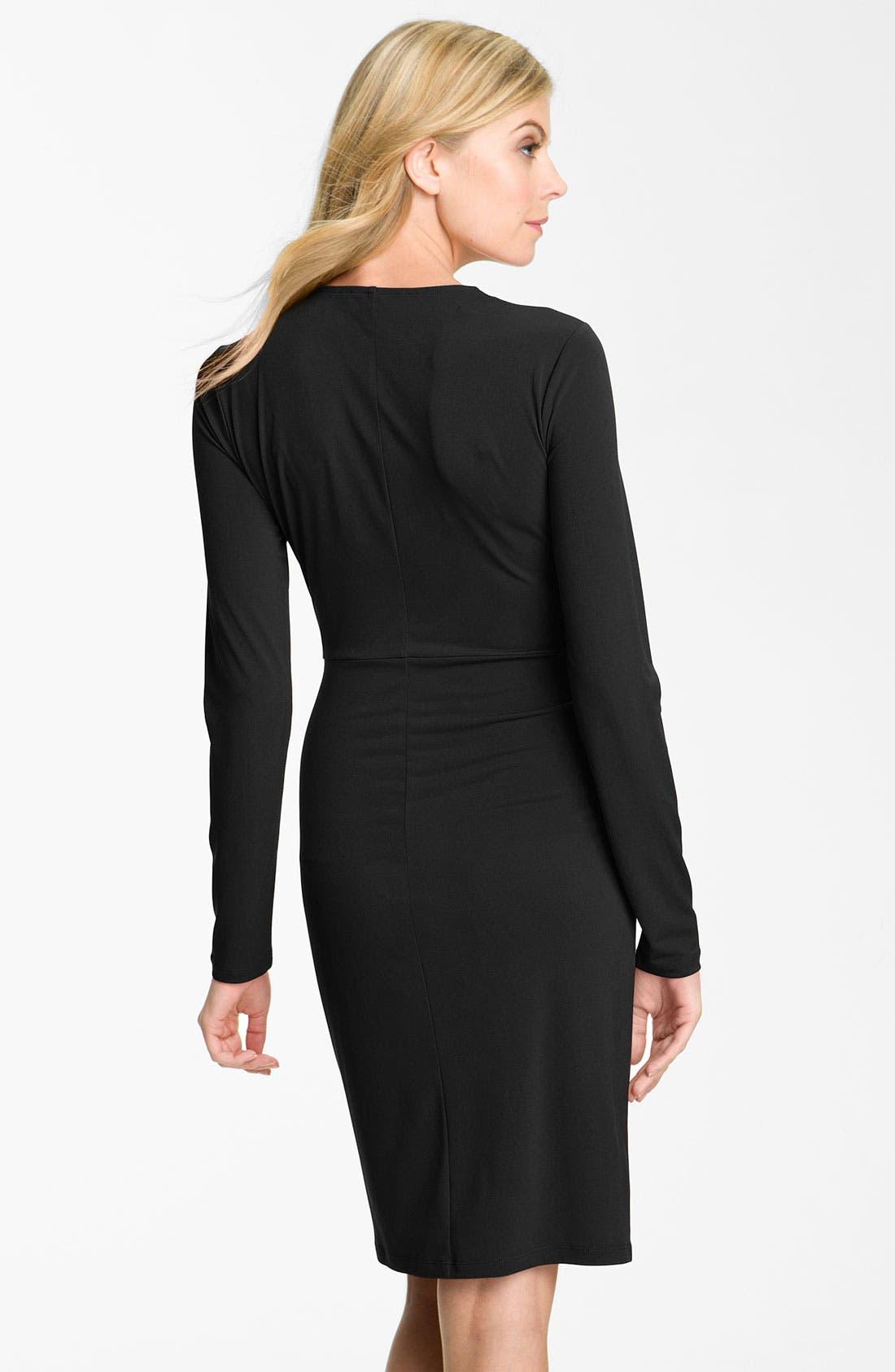 Alternate Image 2  - MICHAEL Michael Kors Faux Wrap Dress (Petite)