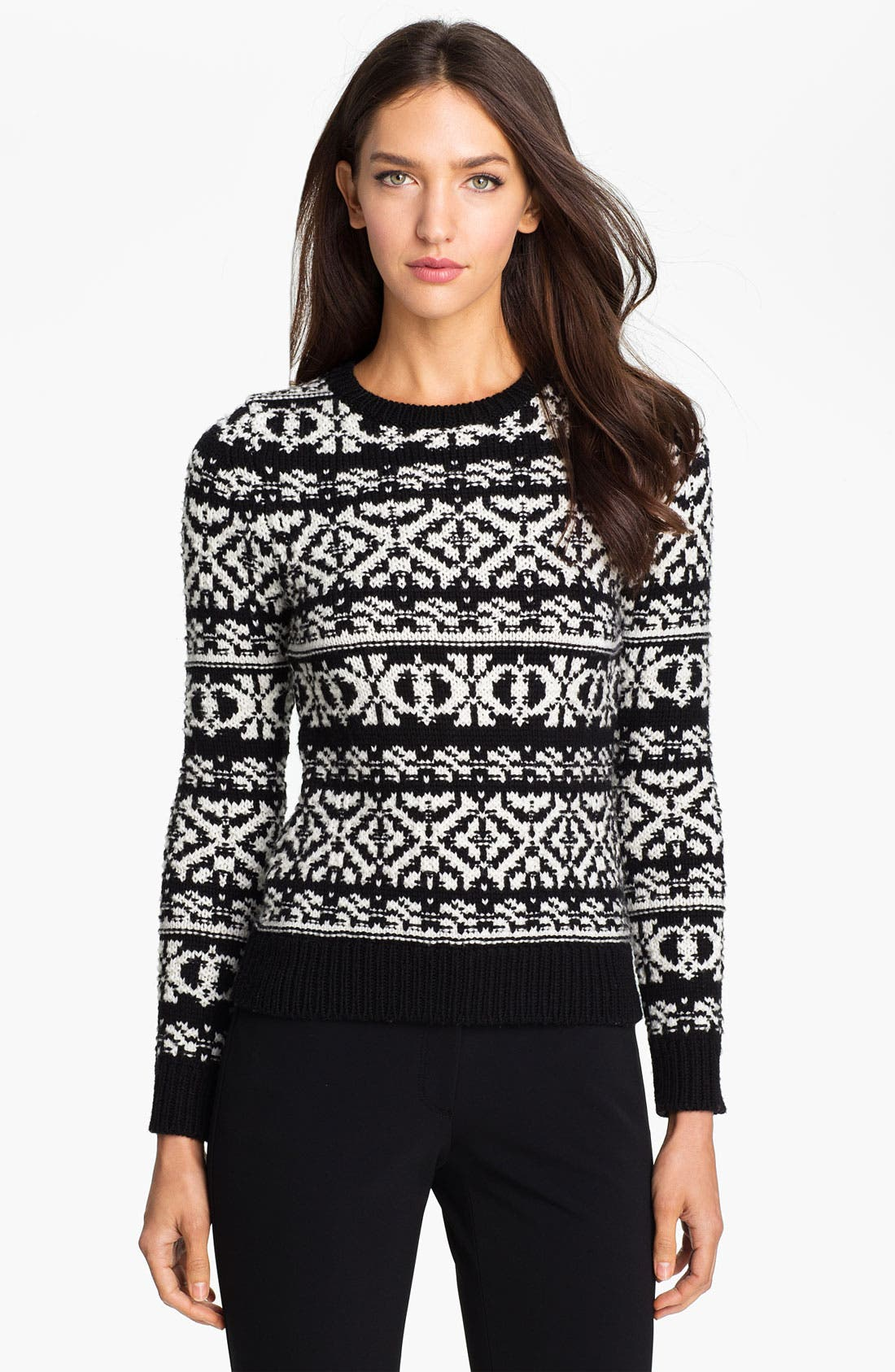 Alternate Image 1 Selected - Theory 'Tommie P.' Wool Sweater