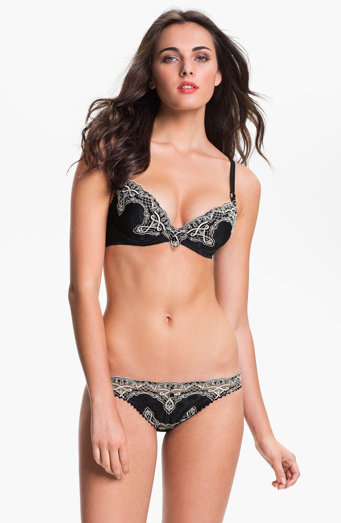 Alternate Image 4  - Pleasure State 'Chateau' Low Rise Bikini