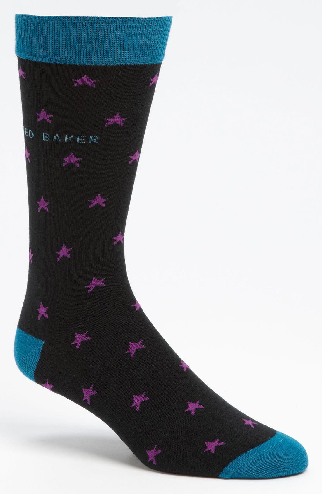 Alternate Image 1 Selected - Ted Baker London Star Socks