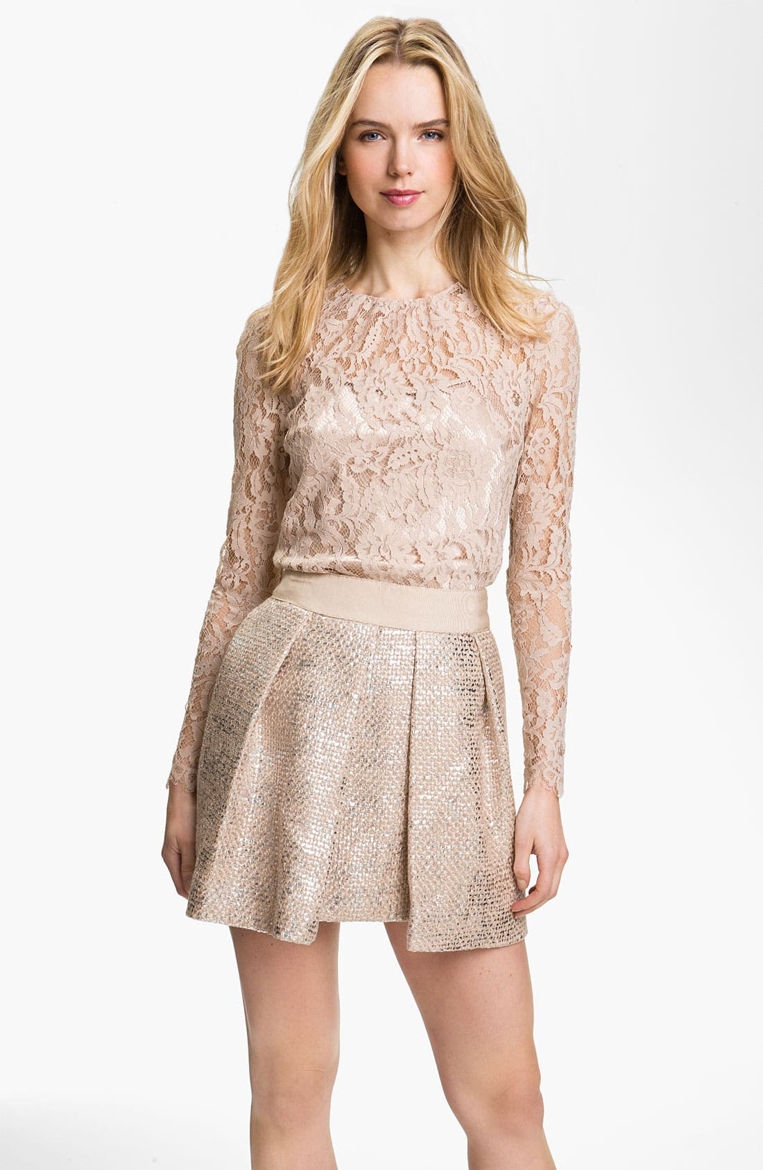 Main Image - Milly 'Ivy' Lace Blouse