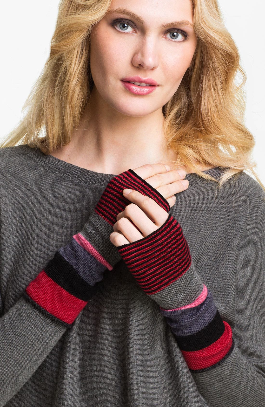 Alternate Image 1 Selected - Eileen Fisher Merino Glovettes