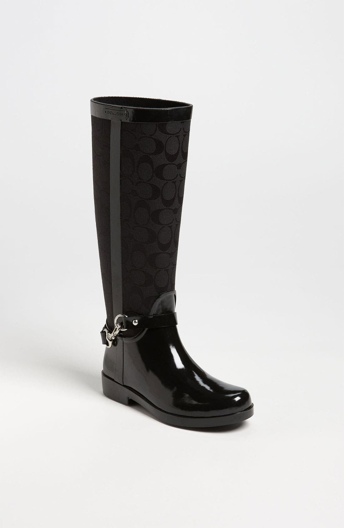Alternate Image 1 Selected - COACH 'Lux' Rain Boot (Women)