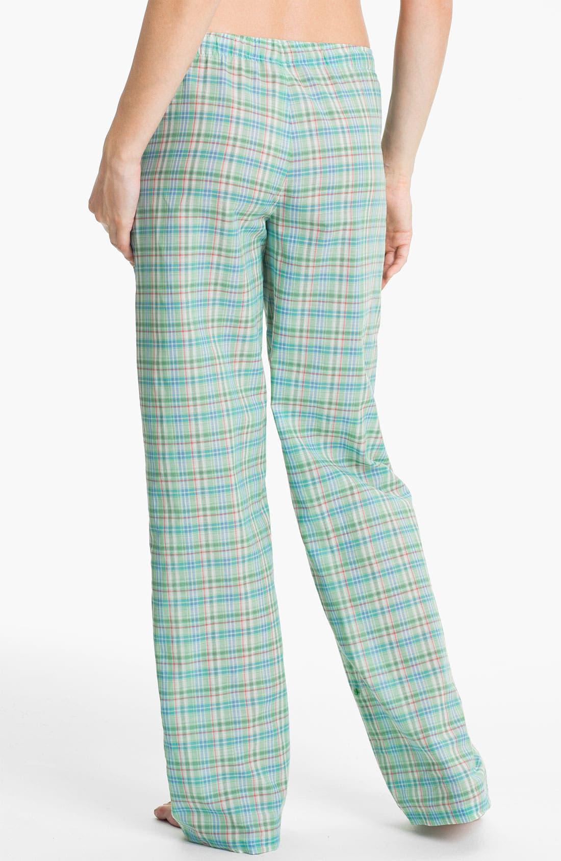 Alternate Image 2  - Jane & Bleecker New York Check Lounge Pants