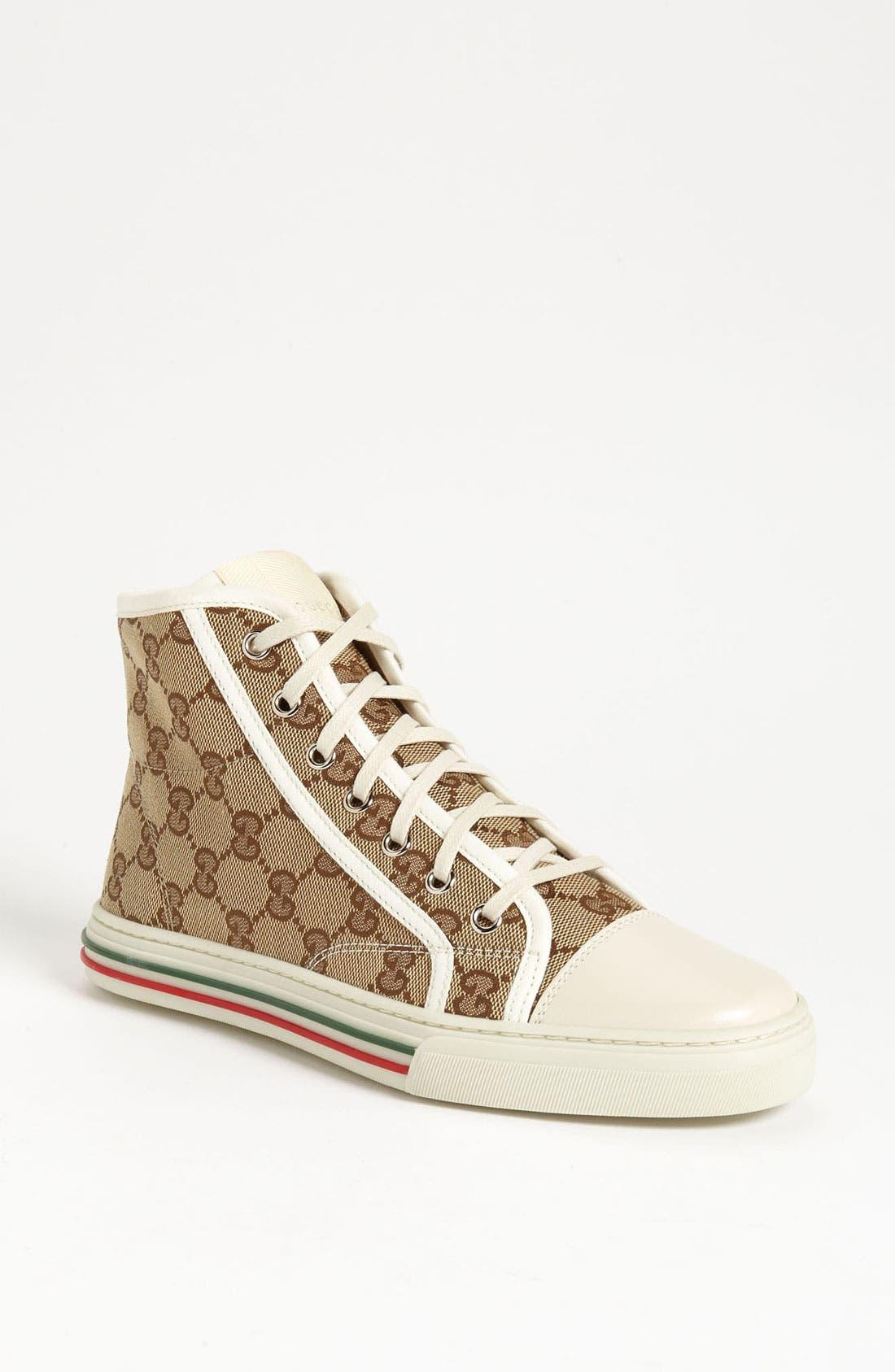 Alternate Image 1 Selected - Gucci 'California' High Top Sneaker