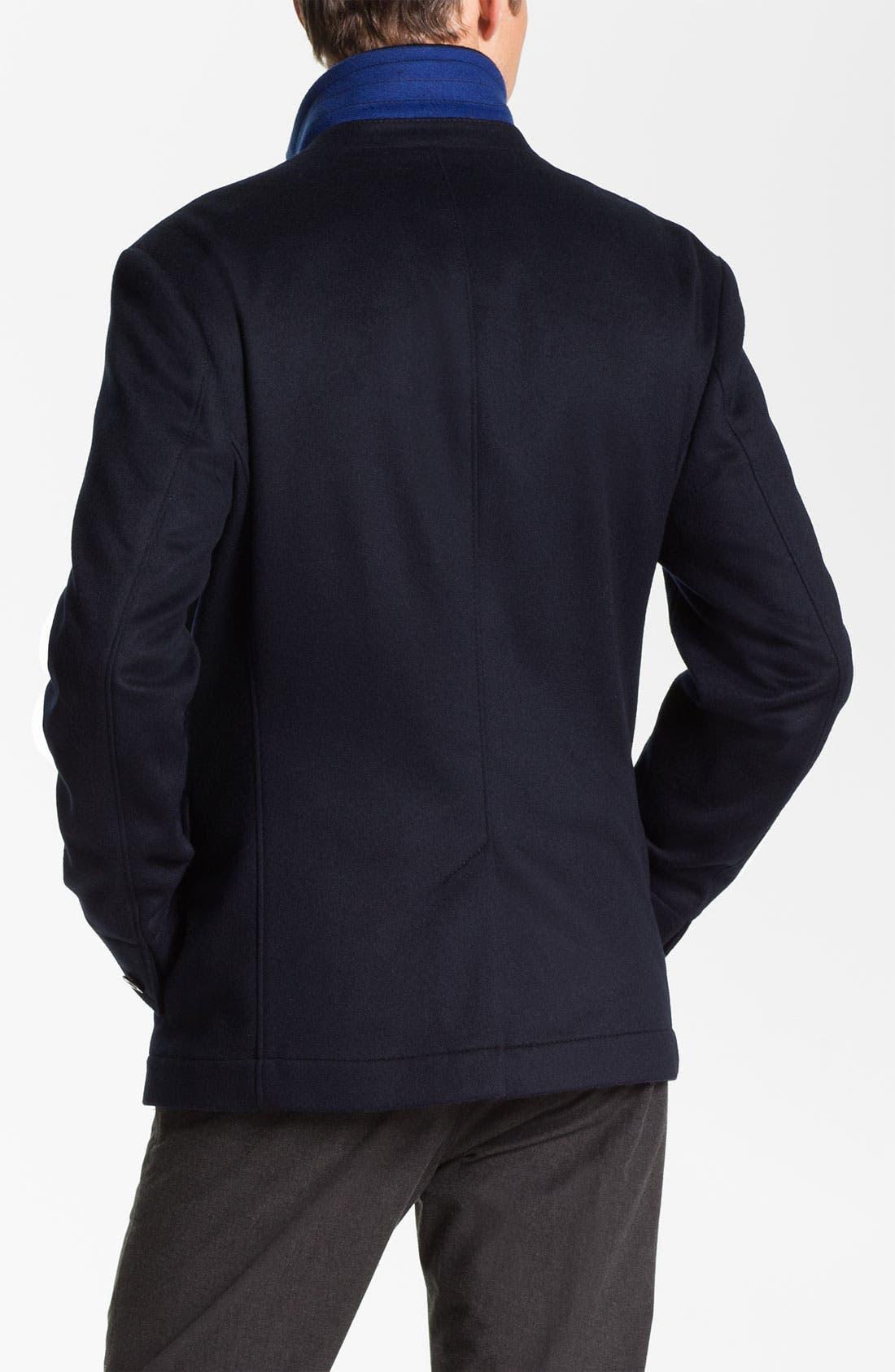 Alternate Image 2  - BOSS Black 'Clynt' Wool & Cashmere Blend Jacket