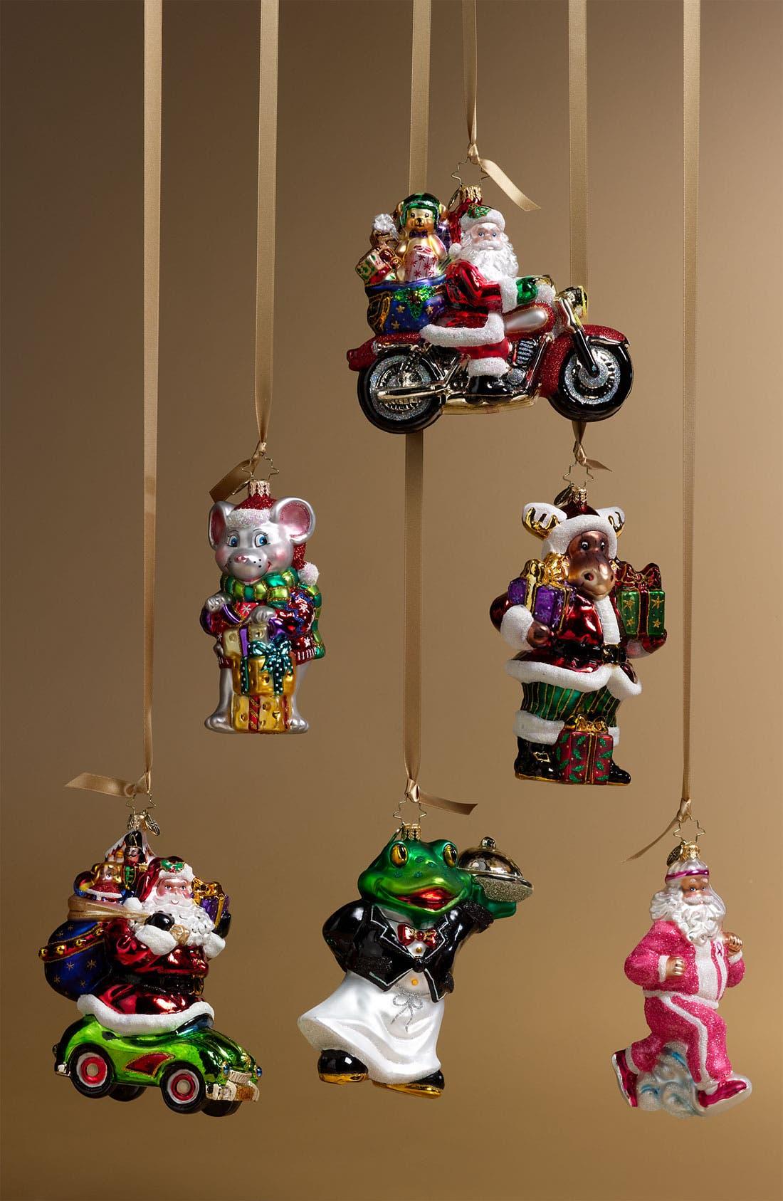 Alternate Image 2  - Christopher Radko 'Hitching a Ride' Ornament