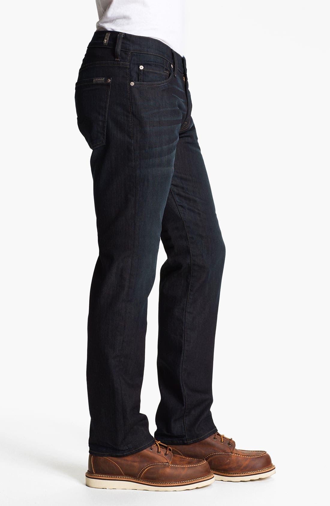 Alternate Image 3  - 7 For All Mankind® 'Slimmy' Slim Fit Jeans (Eddington)