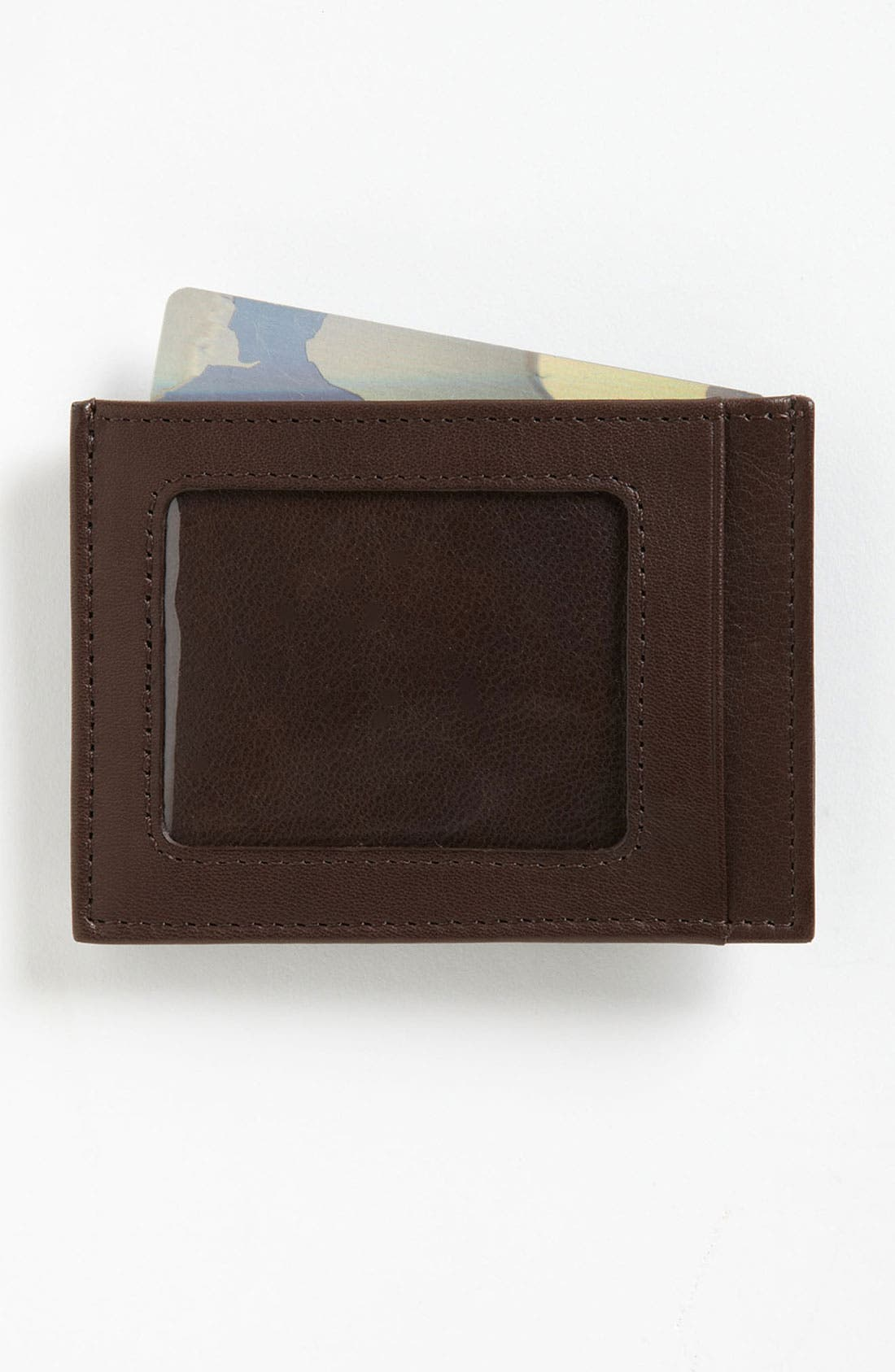 Alternate Image 1 Selected - Trafalgar 'Alicante' Money Clip Wallet