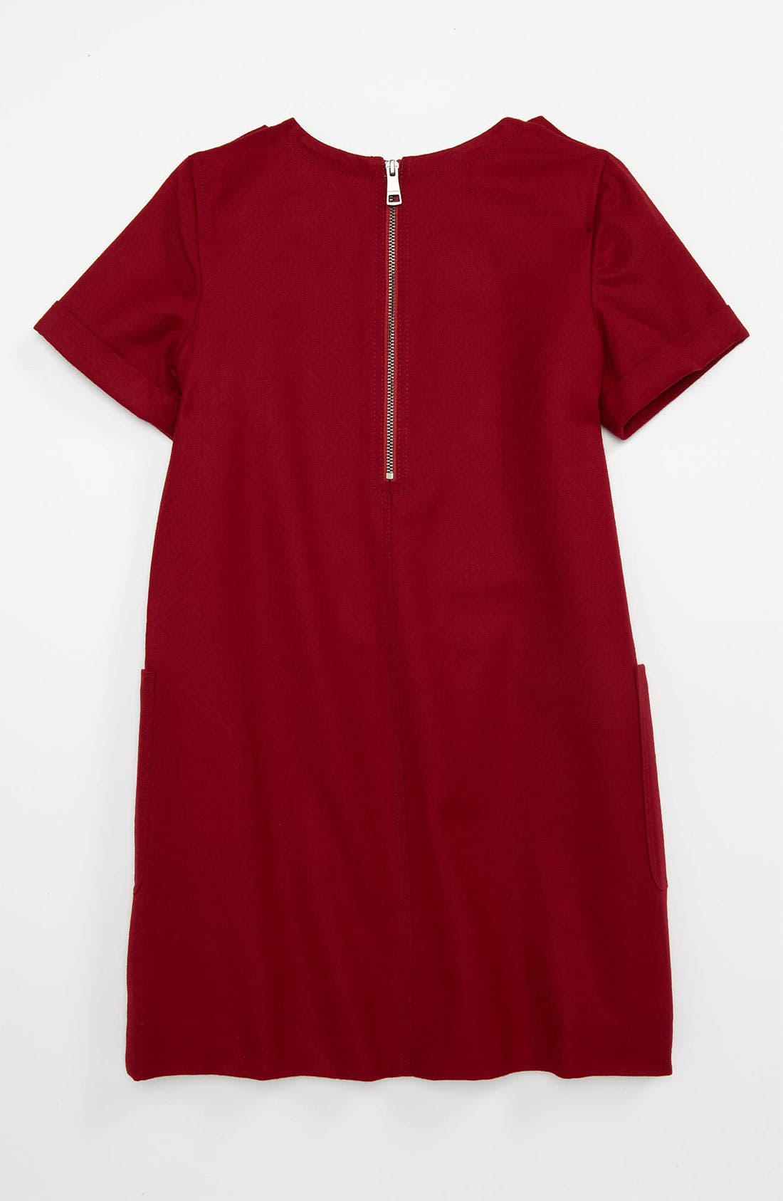 Alternate Image 2  - Burberry Shift Dress (Little Girls & Big Girls)