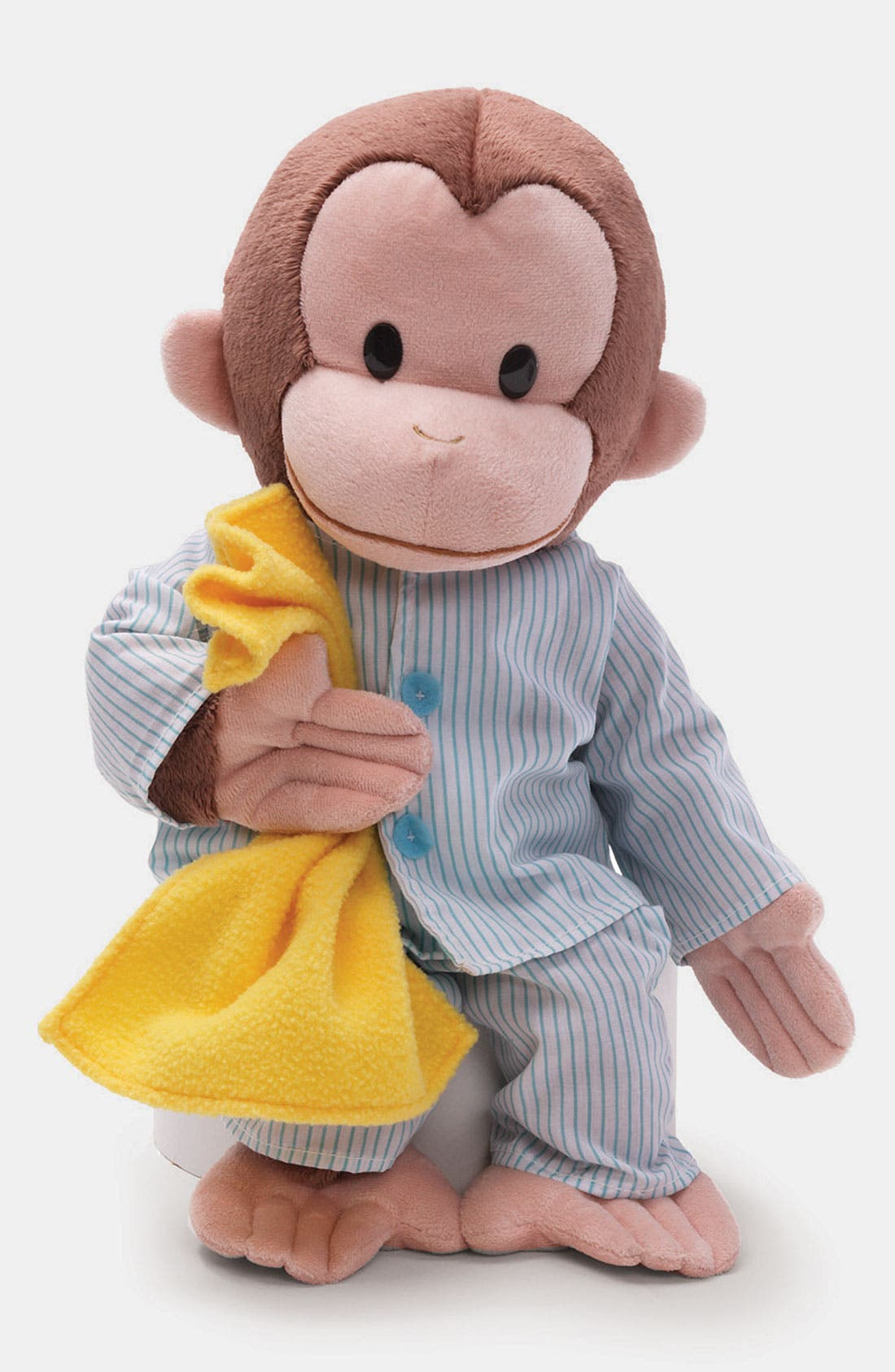 Alternate Image 1 Selected - Gund 'Sleepy Curious George™' Stuffed Animal