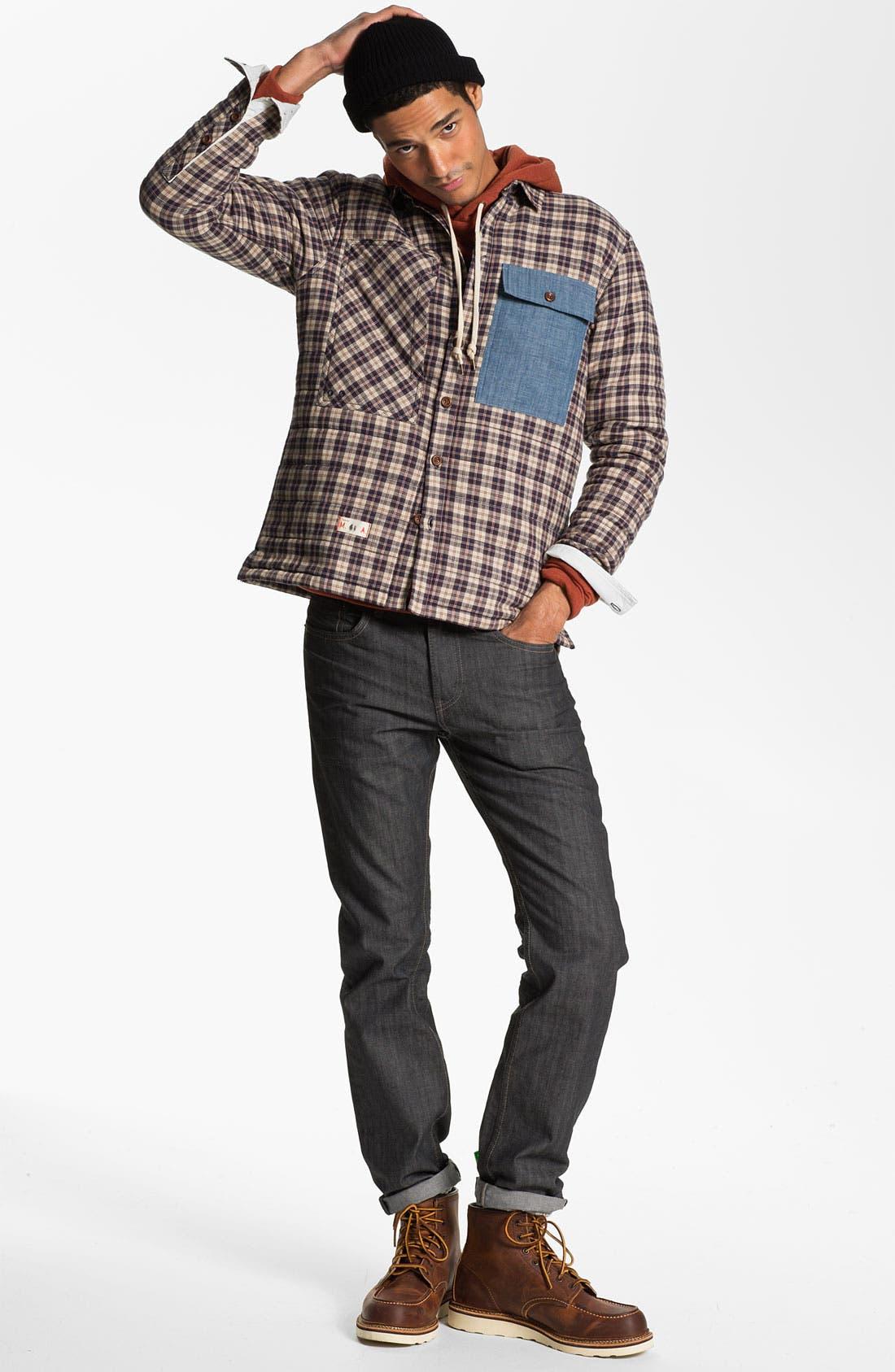 Alternate Image 4  - Levi's® '513™' Slim Fit Jeans (Moulded Slate)