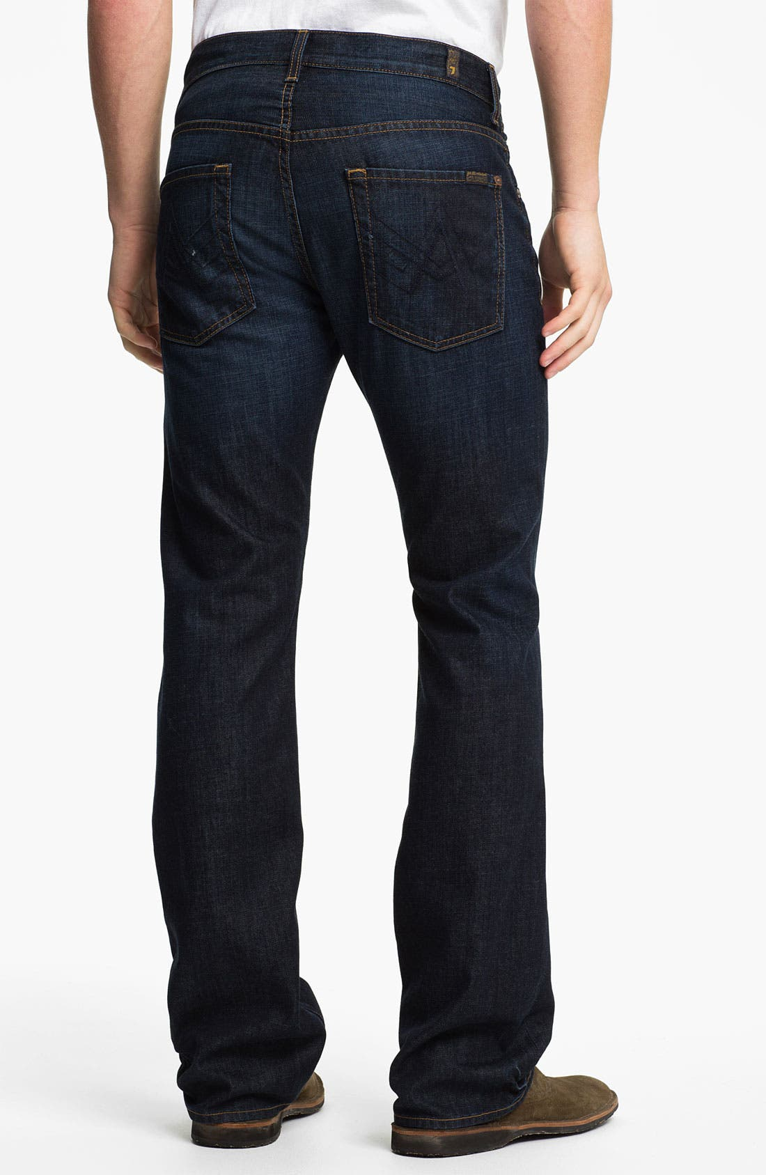 Alternate Image 1 Selected - 7 For All Mankind® 'Brett' Bootcut Jeans (Hollenbeck)