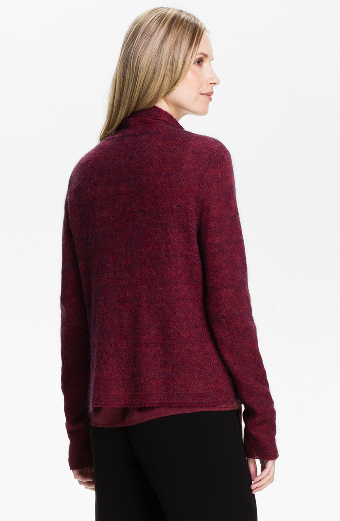 Alternate Image 2  - Eileen Fisher Drape Front Cardigan