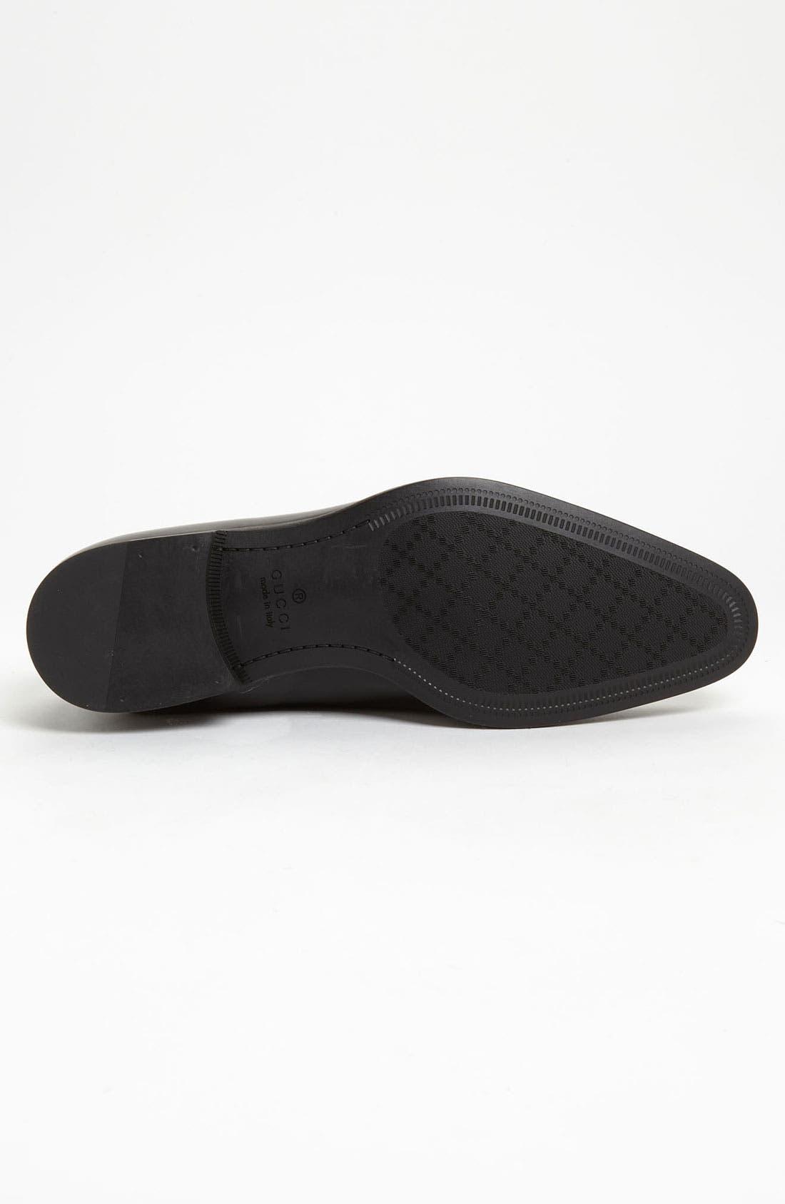 Alternate Image 4  - Gucci 'Noort' Plain Toe Oxford