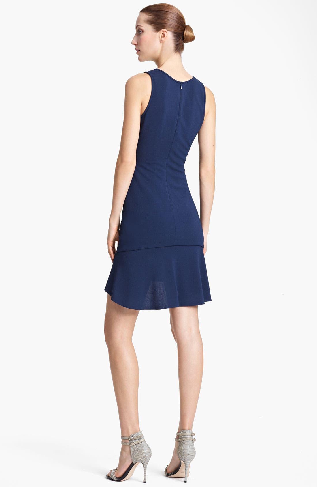 Alternate Image 2  - Yigal Azrouël Matte Crepe Jersey Dress